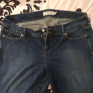 Torrid Dark Boot Cut/Flare Jeans sz 18